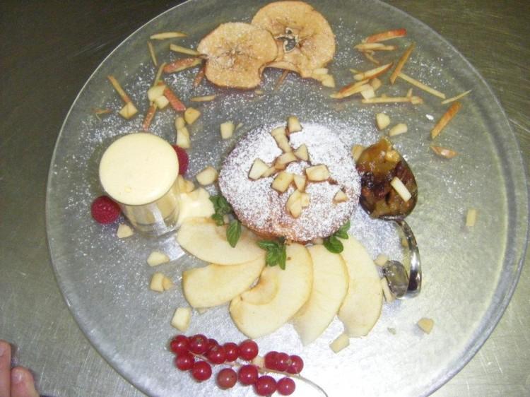 tortino mele dessert
