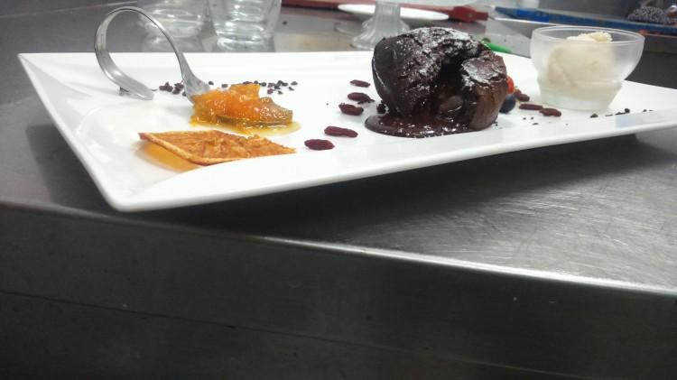 tortino cioccolato dessert